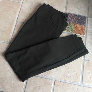 Dalia -Army Green Skinny Leggings -6